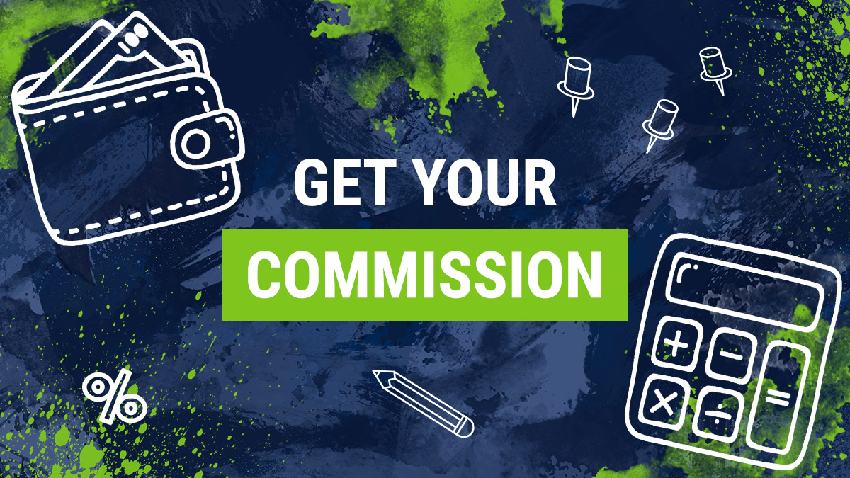 Get your commission